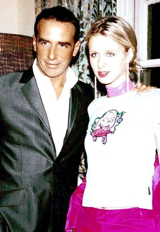 Nicky Hilton and Lloyd Klein circa 2000